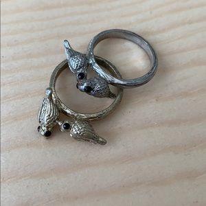 Jewelry - Bundle Add 🎈2 size 6 bird 🐦 feature rings